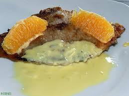 cuisiner une aile de raie recette d ailes de raie nappée d une sauce à l orange légèrement
