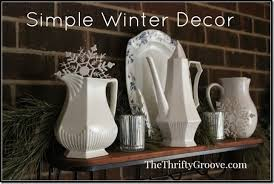 the thrifty groove january home décor embracing the wintery month