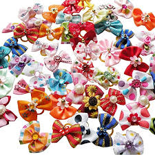 handmade hair dog hair bows with rubber bands how to make hair bows