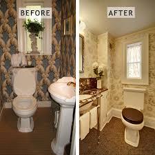 Powder Room Remodel Transitional Powder Room Remodel Bathroom Design By Tracey