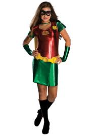 Female Superhero Costume Ideas Halloween Tween Girls Robin Costume Robin
