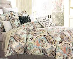blue green and brown quilts green and brown stripe duvet cover