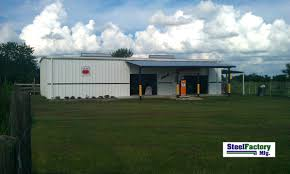 Prefab Metal Barns Metal Garages Steel Garages Steel Buildings By Steel Factory Mfg