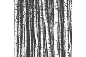 24 black white trees window curtains design living room elegant