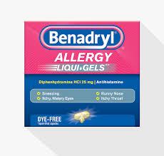 benadryl allergy dye free liquigels benadryl
