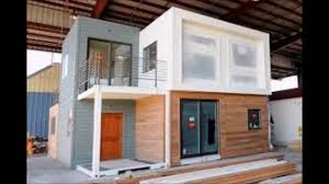 how much would it cost to build a shipping container house youtube