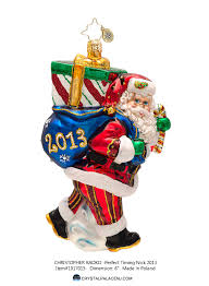 decor timing nick by christopher radko ornaments for