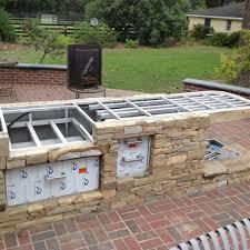 kitchen patio ideas ideas of best design of outdoor kitchen patio with garden view