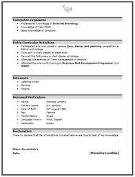 Mba Resume Format by Mba Finance Resume Free Download In Word 2 Career Pinterest
