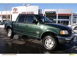 ford f150 lariat 4x4 for sale 2001 ford f150 lariat supercrew 4x4 in highland green