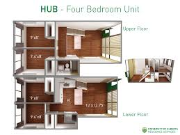 four bedroom house floor plans prospective exchange residence services of alberta