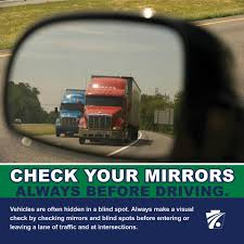Driving Blind Spot Check Check Your Mirrors Always Before Pennsylvania Department Of