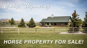 horse property for sale in cody wyoming 152 road 3cxs youtube