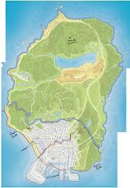 Gta 5 Map Gta V Map By Sakurastar0660 On Deviantart