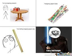meme wrapping paper wrapping paper jedi by meme center