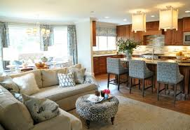 Open Floor Plan Living Room Furniture Arrangement Arranging Furniture For Home Staging