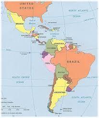 The Caribbean Map by Latin America U0026 The Caribbean