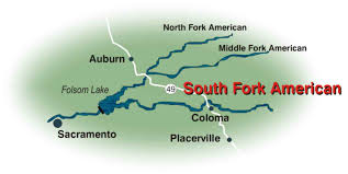 South America Rivers Map by South Fork American River 2 Day Camp Trip Overview Earthtrek