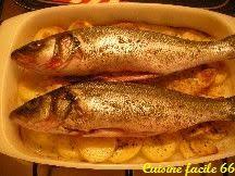 cuisiner du mulet mulet au four aux pommes de terre recette cuisine facile 66