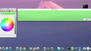 change color dock mac osx lion