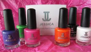 jessica cosmetics nail polish review party chic summer colour