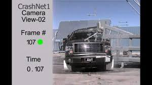 Ford F150 Truck Length - ford f 150 supercab 2011 pole crash test high speed camera