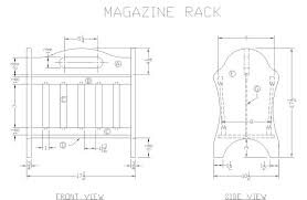 how to build a wooden magazine rack woodworking plans at lee u0027s