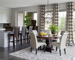 Dining Room Window 10 Top Window Treatment Trends Hgtv Intended For Dining Room