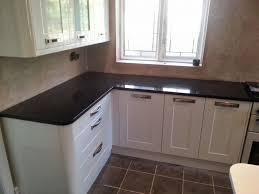 Microwave Kitchen Cabinet Granite Countertop Oak Kitchen Black Granite Worktop Microwave