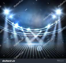 concert light show stage lights digital stock illustration