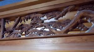 beautiful wood carving in japan