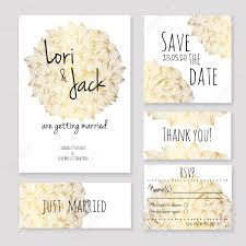 Invitation Card With Rsvp Wedding Invitation Card Set Thank You Card Save The Date Cards