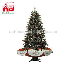 170cm high artifical snowing tree with umbrella base and