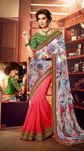 designer bilder die 78 besten bilder zu half and half sarees auf