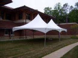 tent rentals richmond va 20 foot wide high peak frame tents rentals colonial heights va