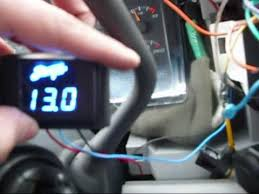 how to wire a stinger volt meter youtube