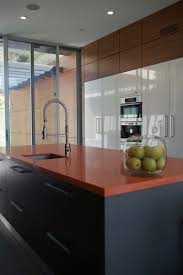 best high gloss lacquer finish kitchen cabinets decor color ideas