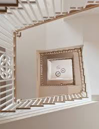 large transitional style staircase usual house staircase