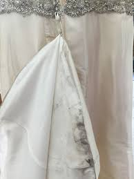 Dry Clean Wedding Dress Wedding Gown Cleaning By Clevergreen Dry Cleaners Rue Le Chat