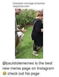 Wedding Proposal Meme - 25 best memes about marriage proposal marriage proposal memes