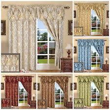 Living Room Curtains EBay - Curtain sets living room