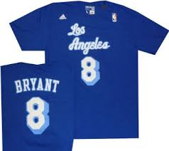 lakers kobe bryant throwback shirt adidas blue adidas