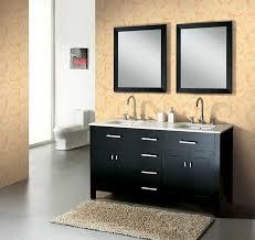 modern designs of double bathroom vanities
