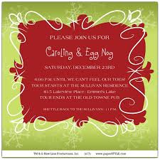 somebody needs a carol invitations paperstyle