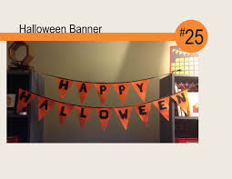halloween banner diy youtube