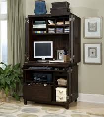 sophisticated workstation desk with base file cabinet and printer
