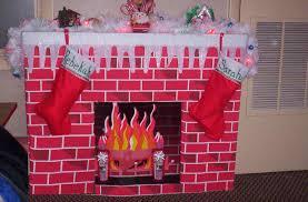 diy faux gate cardboard diy fireplace