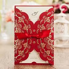 wedding invitations cards wishmade 50x laser cut wedding invitations