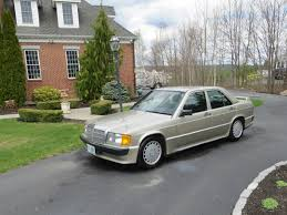 mercedes 190e amg for sale 1986 mercedes 190e 2 3 16 with 55k looks like an