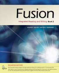 fusion book 2 enhanced edition integrated reading and writing